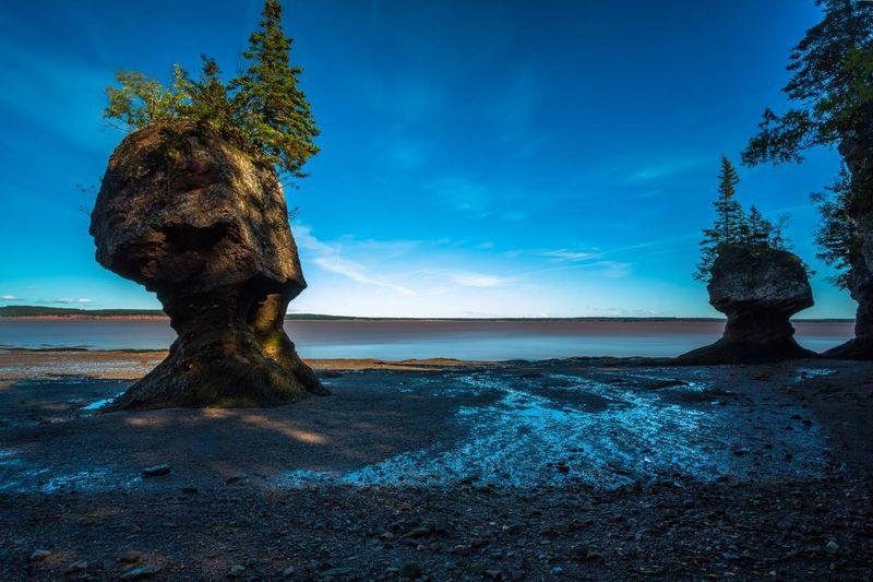 Why Canada | Hopewell Rocks Bay of Fundy New Brunswick Canada visa application