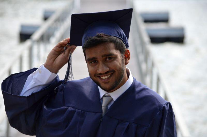 Indian on graduation