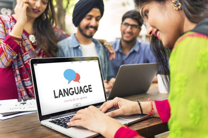 Indian people applying for online IELTS to improve Canadian visa application