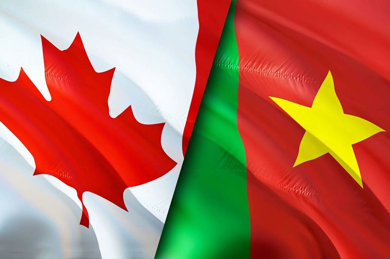 Canada and Cameroon flags |  how to apply for a Canada visa from Cameroon