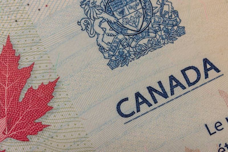 canada passport stamp to migrate to Canada