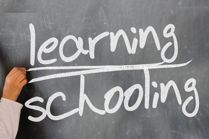 learning schooling blackboard chalk | permanent residence in Canada