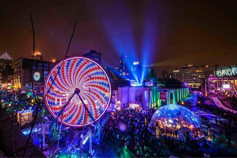 Montreal en lumiere festival canada