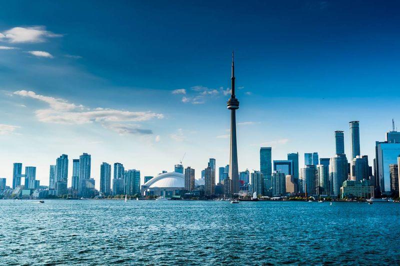 Ontario skyline Canada   Canadian permanent residency