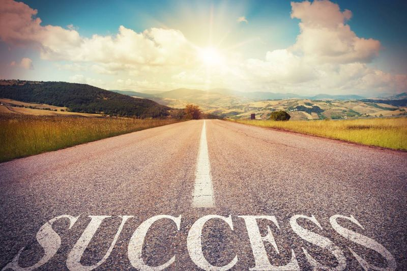 road with success leading to beautiful landscape | immigrate to Canada