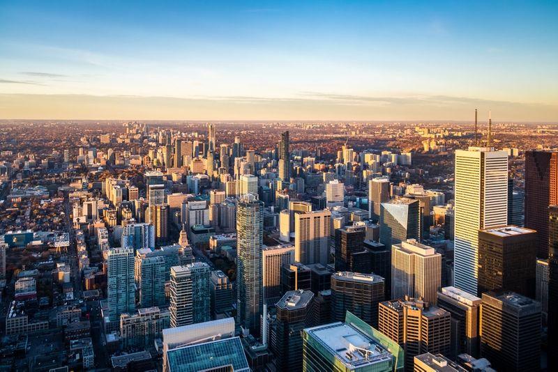 Skyline of Ontario