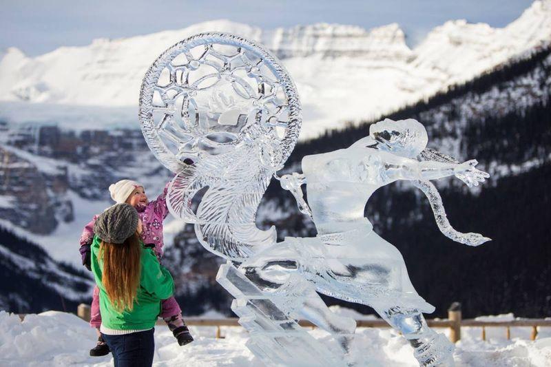 snowydays ice magic festival canada