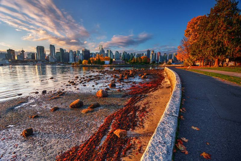 Vancouver in autumn British Columbia Canada |  how to apply for a visa to Canada from the Dominican Republic